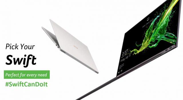 Acer Luncurkan #Swiftcandoit