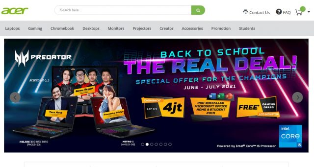 Acer Promo Back to School