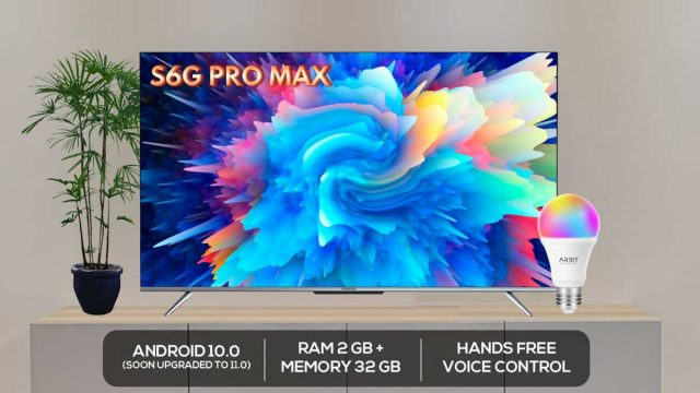 Android TV S6G PRO Max