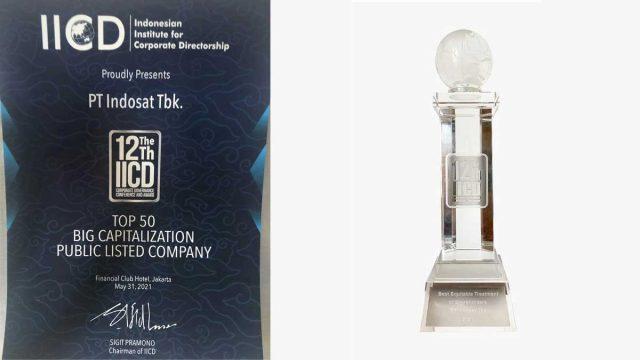 Indosat Raih Penghargaan