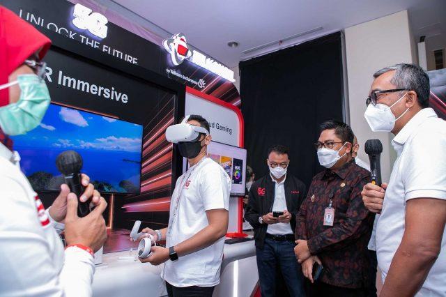 Layanan 5G Telkomsel Denpasar